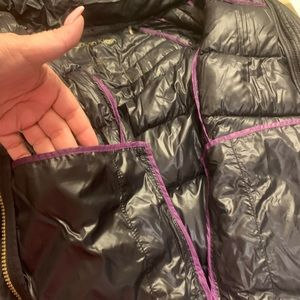 Used ladies Calvin Klein zip up  light wt w down